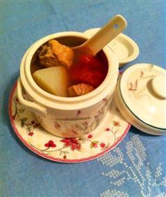 萝卜番茄排骨汤