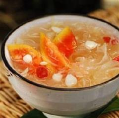 木瓜红枣蜂蜜银耳汤