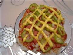 米饭披萨尝试版本