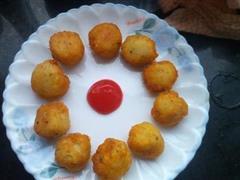 土豆泥水果丸子