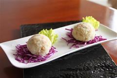 蘑菇火腿土豆泥