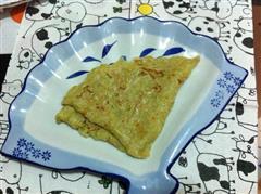 西葫芦丝煎饼
