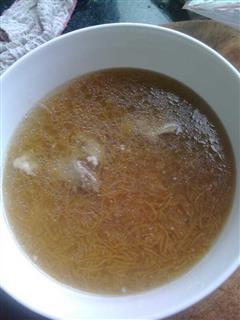 海粉排骨汤