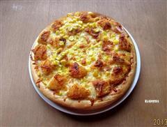 虾排培根披萨