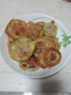 西葫芦猪肉煎饼