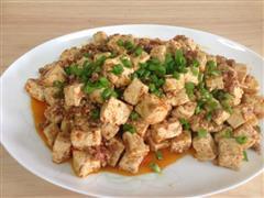 番茄麻辣豆腐