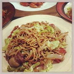日式豚肉炒面