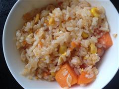木瓜蛋炒饭