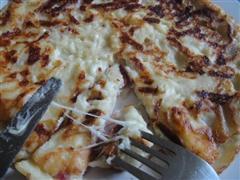 荷兰风味培根奶酪煎饼
