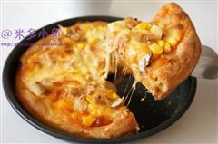金枪鱼时蔬披萨