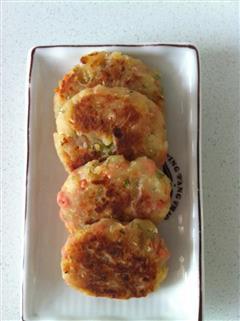 土豆泥火腿饼