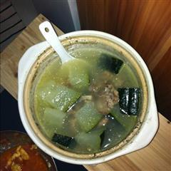 广式冬瓜排骨汤