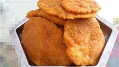 奶香南瓜煎饼