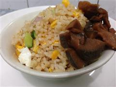 三丁蛋炒饭