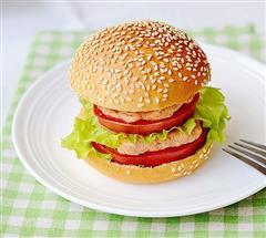 清爽型汉堡