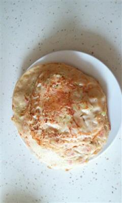 火腿黄瓜煎饼
