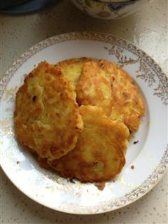 洋葱海鲜土豆泥饼
