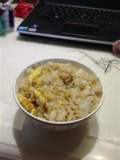 超简易耗油蛋炒饭