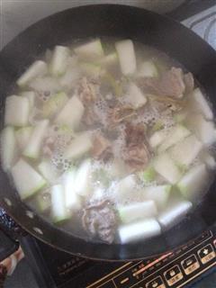 清炖 冬瓜排骨汤