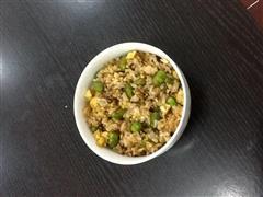 豆米蛋炒饭