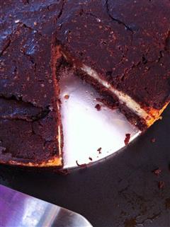 浓郁芝士布朗尼蛋糕