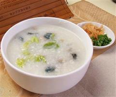 营养早餐:皮蛋瘦肉粥