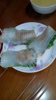 白菜皮煎饼
