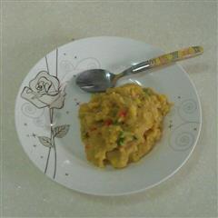 杂蔬咖喱土豆泥