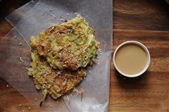 日式早餐煎饼