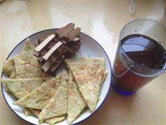 西葫芦虾皮煎饼