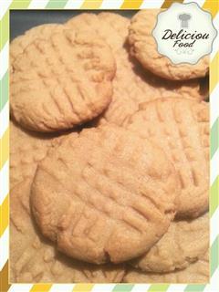 花生酱红糖奶油曲奇饼干