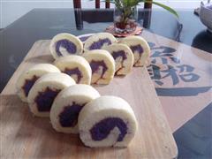 紫薯戚风蛋糕卷-28图超详细步骤
