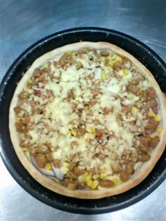 川香牛肉披萨