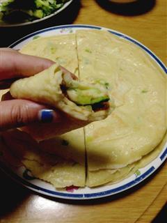 京酱肉丝&鸡蛋饼