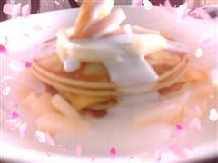 酸奶小煎饼yogurt pancake