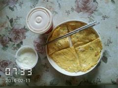 美味早餐鸡蛋饼
