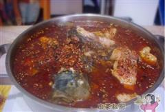 川味的美食锅-水煮鱼块