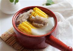 萝卜炖排骨汤