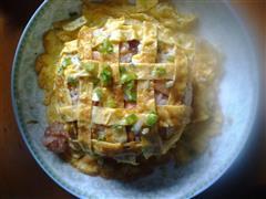 葵花蛋炒饭