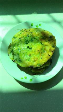 肉沫野菜煎饼