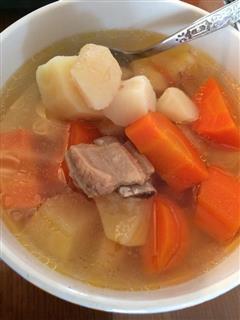 简易清润排骨汤