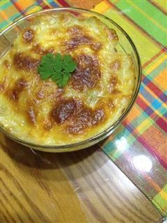 马苏里拉奶酪香焗土豆泥