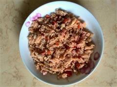 茄汁肉沫蛋炒饭