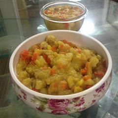 咖喱土豆泥