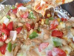 传统意式鸡肉披萨