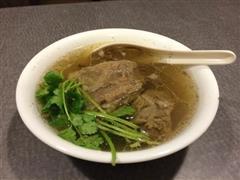 清炖牛排骨汤