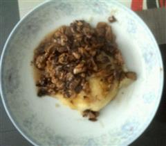 口蘑肉末土豆泥