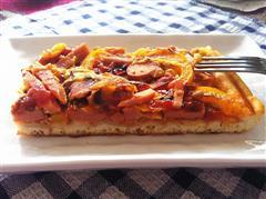自制方型披萨