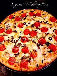 超美味的美式披萨