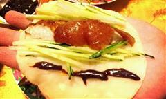自制北京烤鸭卷饼